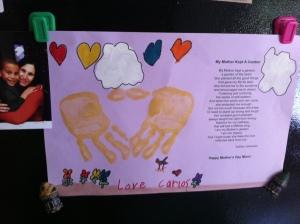 Kindergarten Mother's Day Gift