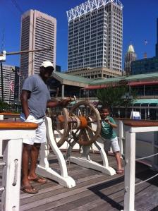 Orlando and Carlos Ready to Set Sail