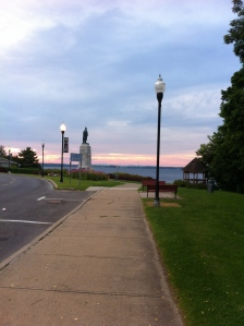 Running in Plattsburgh