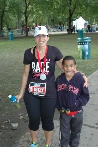 Montreal Marathon Mom!
