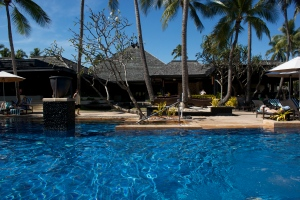 Sparkling swimming pools