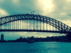 The Sydney Harbor BridgeThe Sydney Harbor Bridge