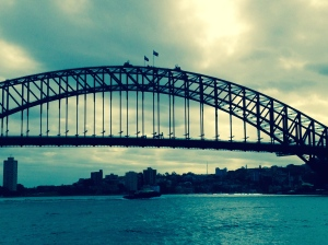 The Sydney Harbor BridgeThe Sydney Harbor Bridge