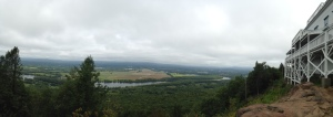 Panoramic from the top of Mt. Holyoke