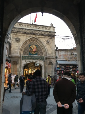 Entering the Grand Bazaar