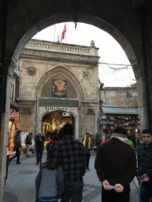Entering the Grand Bazaar