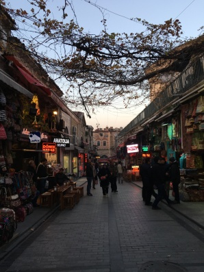 Walking through Istanbul