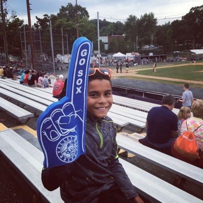 Holyoke Blue Sox final home game